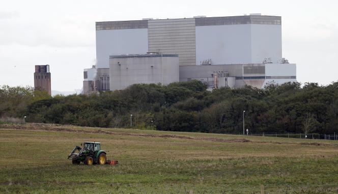 Le site EDF de Hinkley Point C, dans le sud-ouest de l'Angleterre, en octobre 2013.