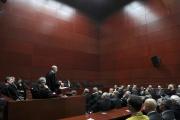 Le tribunal de grande instance, au palais de justice de Nantes (Loire-Atlantique).