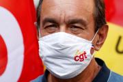 Le secrétaire général de la CGT, Philippe Martinez, à Paris, le 17 septembre 2020.