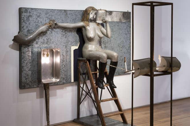 «The Rhinestone Beaver Peep Show Triptych»,de Ed &Nancy Kienholz.