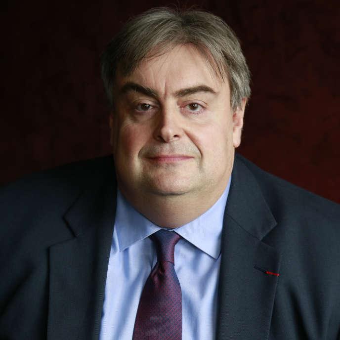 Richard Patry, président de la Fédération nationale des cinémas français, en 2020, à Paris.