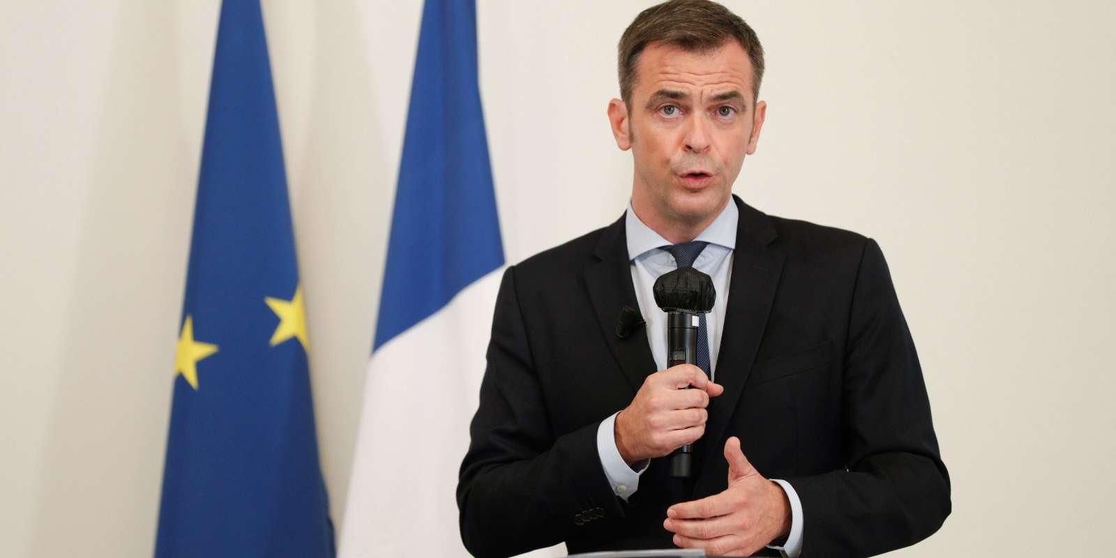 Conférence de presse d'Olivier Véran, le 17 septembre.