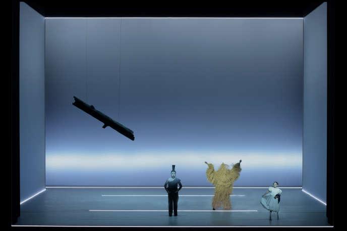 «Der Messias», de Haendel/Mozart,réalisé par Bob Wilson pour Salzbourg.