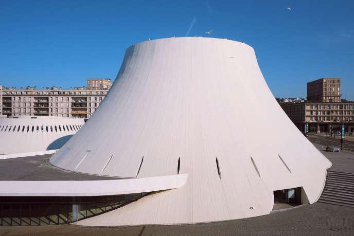 L'espace Oscar Niemeyer.