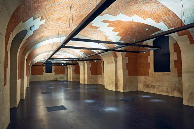 La nouvelle galerie sud du Palais Galliera, ouverte après deux ans de travaux.