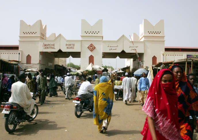 N'Djamena, en 2006.