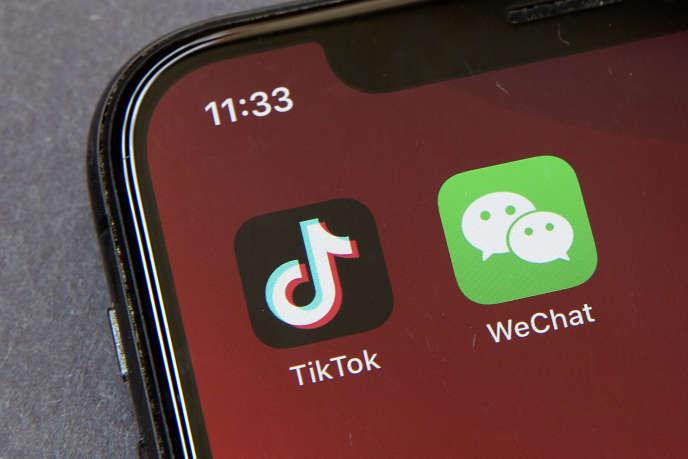 Les applications TikTok et WeChat ne seront plus trouvables sur les smartphones aux Etats-Unis à partir du 20 septembre, selon les annonces du département du commerce américain.