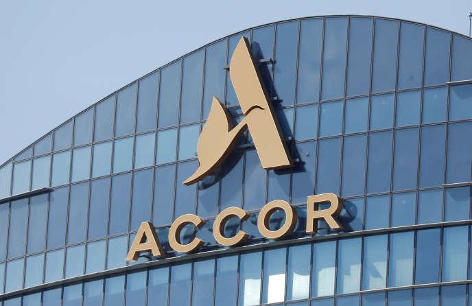 Le siège du groupe hôtelier Accor, à Issy-les-Moulineaux (Haus-de-Seine), près de Paris, le 27 mai.