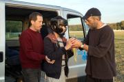 Reda Kateb (Malik), Marco Locatelli (Valentin) et Vincent Cassel (Bruno) dans«Hors normes», d'Olivier Nakache et Eric Toledano.