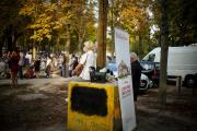«Le rond-point dans le jardin» propose pendant le mois de septembre une représentation ouverte au public tous les soirs.