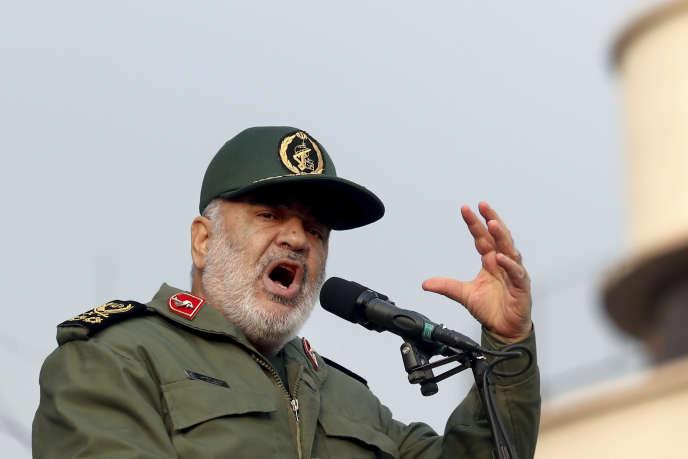 Hossein Salami, le 25 novembre 2019, à Téhéran, en Iran.