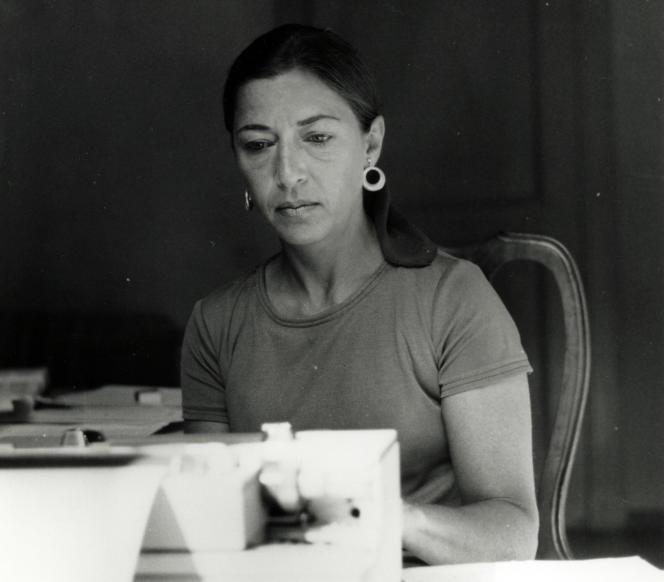 Ruth Bader Ginsburg en 1977.