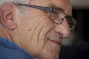 Marcel Trillat, à la fête de l'Humanité, à la Courneuve (Seine-Saint-Denis), en septembre 2011.