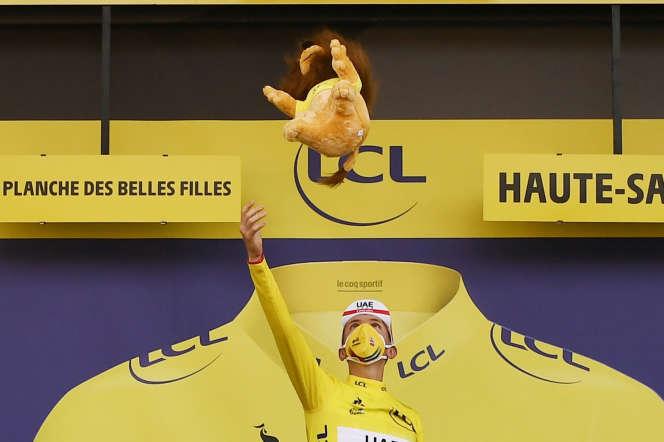 Dimanche, Tadej Pogacar va remporter le Tour de France.