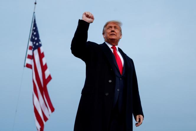 Donald Trump, lors d'un meeting à Fayetteville (Caroline du Nord), le 19 septembre.