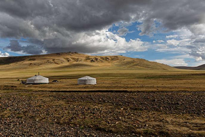 «Ogui, médecin des steppes de Mongolie»,d'Antoine Brice.