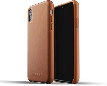 Meilleure coque en cuir pour l'iPhone XR Mujjo Full en cuir pour iPhone XR