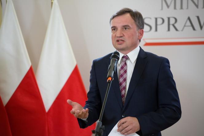 Le ministre polonais de la justice, Zbigniew Ziobro, le 21 septembre 2020 à Varsovie.