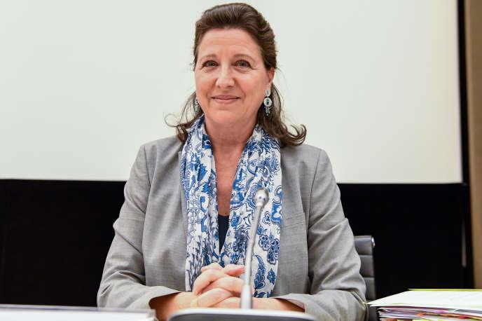 L'ex-ministre de la santé et candidate à la Mairie de Paris, Agnès Buzyn, à l'Assemblée nationale, le 30 juin.