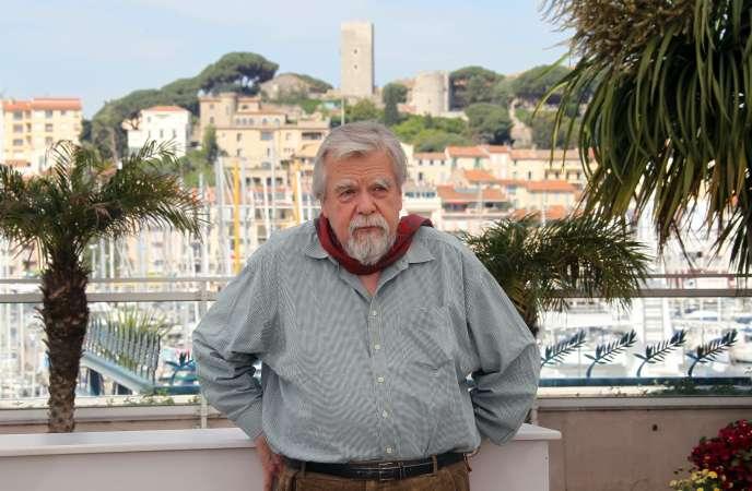 Michael Lonsdale à Cannes,le 18 mai 2010