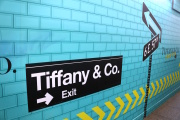 Rénovation du magasin phare de Tiffany&Co, sur la Ve Avenue à New York, le 12 septembre.