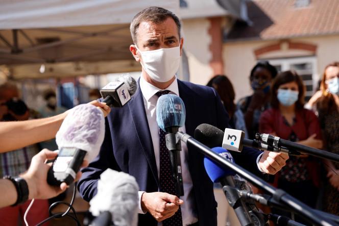 Le ministre de la santé, Olivier Véran, a tenu en fin de journée mercredi23septembre un nouveau point de situation sur la crise sanitaire.
