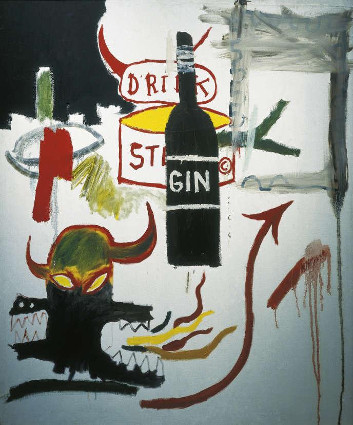 «Sterno», de Jean-Michel Basquiat, 1985. Musée d'art contemporain de Barcelone.