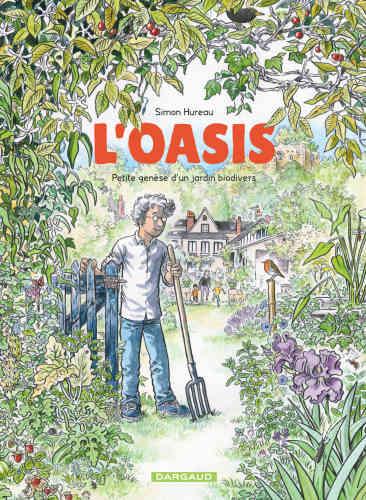 Auteur de bandes dessinées, Simon Hureau raconte... en images la genèse,sur une période de dix ans, de son jardin à Langeais, en Val de Loire. Pelouse stérile au départ, il en a fait, empiriquement d'abord, puis de manière raisonnée, un réservoir de biodiversité où sont revenus pollinisateurs, libellules, batraciens, petits rongeurs et oiseaux. Et, grâce à ses talents de dessinateur et d'aquarelliste, il fait partager aujourd'hui au lecteur ses émerveillements, par-delà les inévitables déconvenues du jardinier débutant,racontées avec humour.