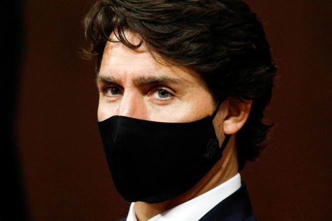 Le premier ministre canadien Justin Trudeau, le 23 septembre à Ottawa.