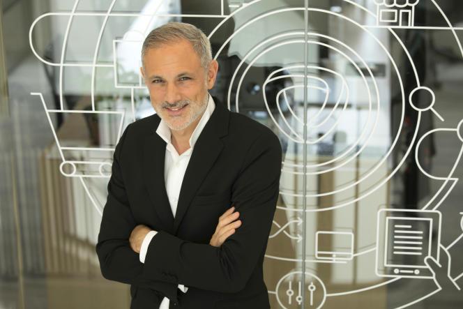 Philippe Corrot, le PDG de Mirakl, le 20 septembre.