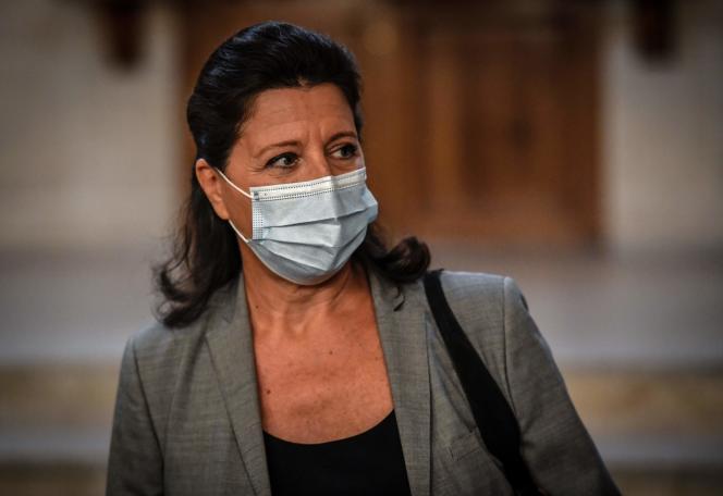 L'ancienne ministre de la santé, Agnès Buzyn, au Sénat, le 23 septembre 2020.