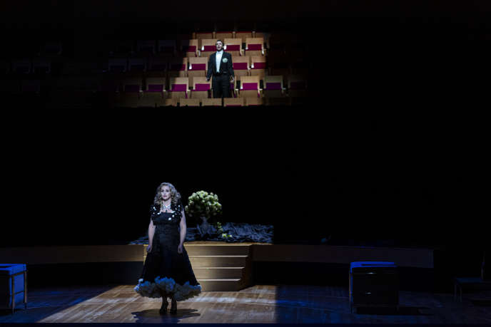 «La Traviata», de Giuseppe Verdi, à l'auditorium de l'Opéra national de Bordeaux, lors des répétitions générales, le 14 septembre.
