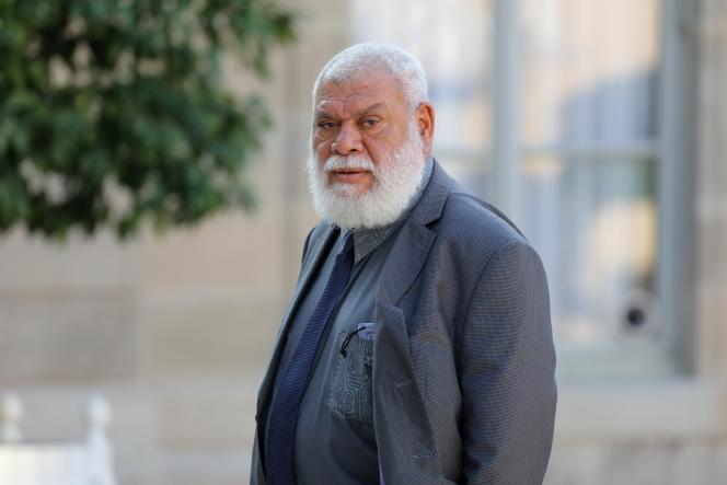 Paul Néaoutyine, chef de file de l'Union nationale pour l'indépendance et président de la province Nord de Nouvelle-Calédonie, à Paris, en juin 2018.