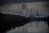 La raffinerie Total de Feyzin près de Lyon, le 7 janvier.