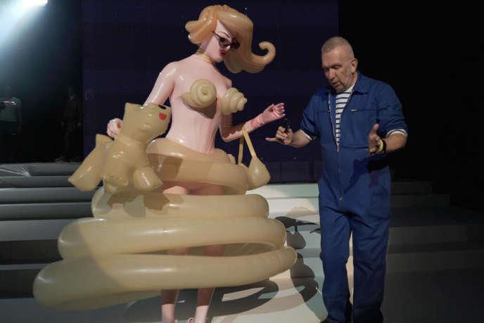Jean-Paul Gaultier, en janvier 2020.