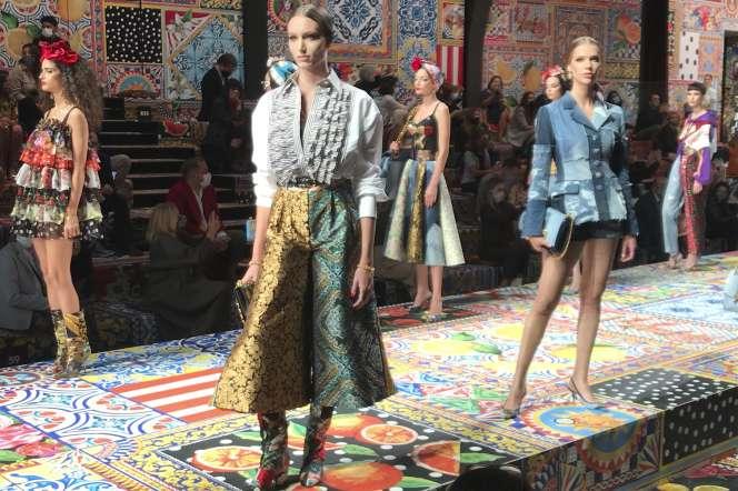 Dolce & Gabbana, printemps-été 2021.