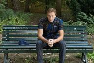 La photo postée par Navalny à sa sortie de l'hôpital.