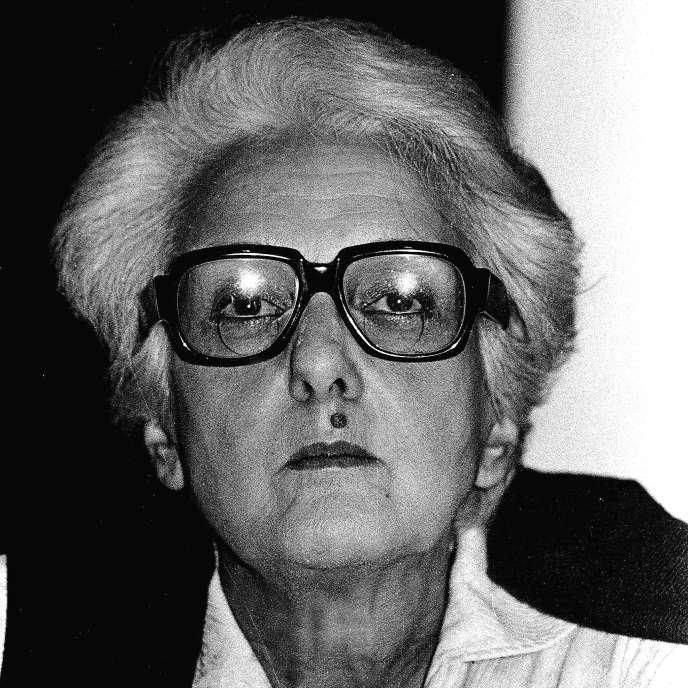 Rossana Rossanda, en 1984.