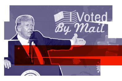 En période d'épidémie de Covid19, beaucoup d'Américains vont voter par correspondance pour la présidentielle de2020. entre les réticences de Trump et les problèmes organisationnels liés au Covid, ce vote à distance pourrait être compliqué.