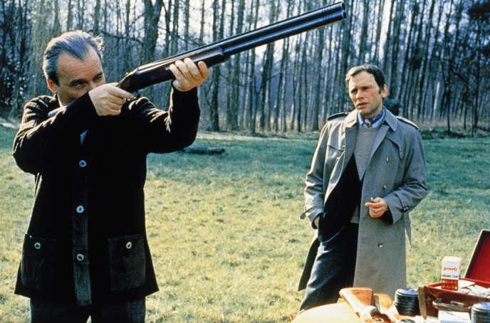 Michel Bouquet et Jean-Louis Trintignant dans« L'Attentat» d'Yves Boisset.