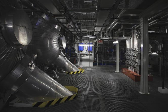 A l'intérieur de la centrale nucléaire de Golfech dans le Tarn-et-Garonne, en décembre 2017.