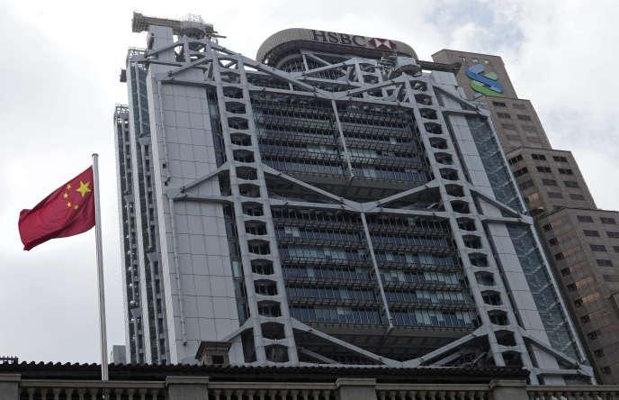 Les bureaux de HSBC, à Hongkong, le 22 septembre 2020.