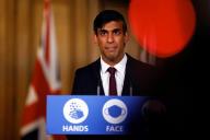 Le chancelier de l'Echiquier Rishi Sunak, à Londres, le 24 septembre 2020.