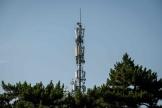 Une antenne-relais utilisant la technologie 5G, à Pékin, en Chine, en mai 2020.