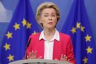 Ursula von der Leyen, à Bruxelles, le 23 septembre 2020.