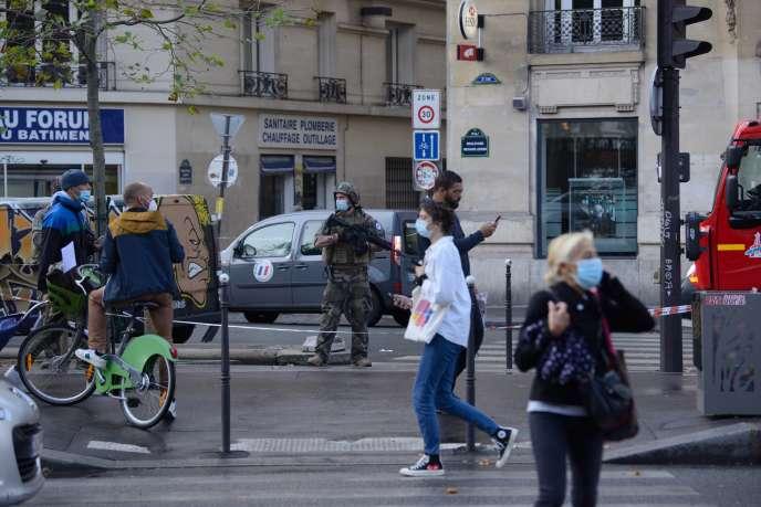 Boulevard Richard-Lenoir, à Paris, le 25septembre.
