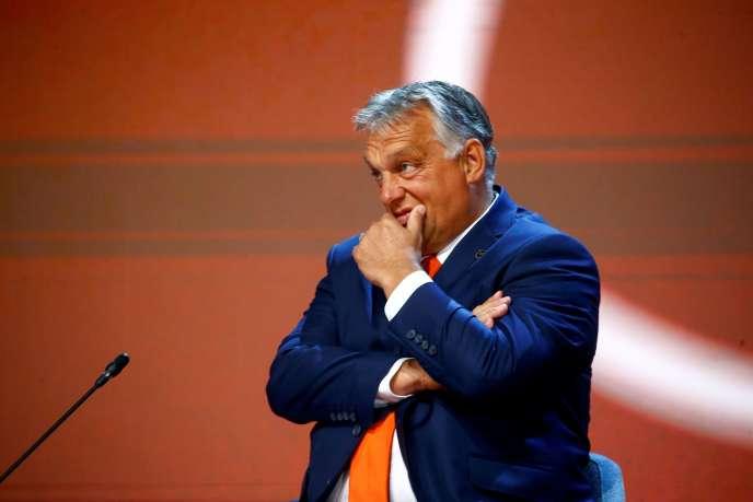 Le premier ministre hongrois Viktor Orban, le 31 août à Bled, en Slovénie.