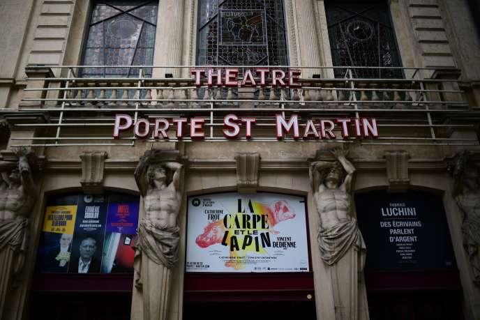 Au Théâtre de la Porte Saint-Martin, à Paris, dès le 8 octobre, il n'y aura pas d'invitations (hormis pour la presse), et le plein tarif a été ramené à 39 euros.