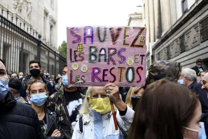 Manifestation à Marseille, le 25 septembre.