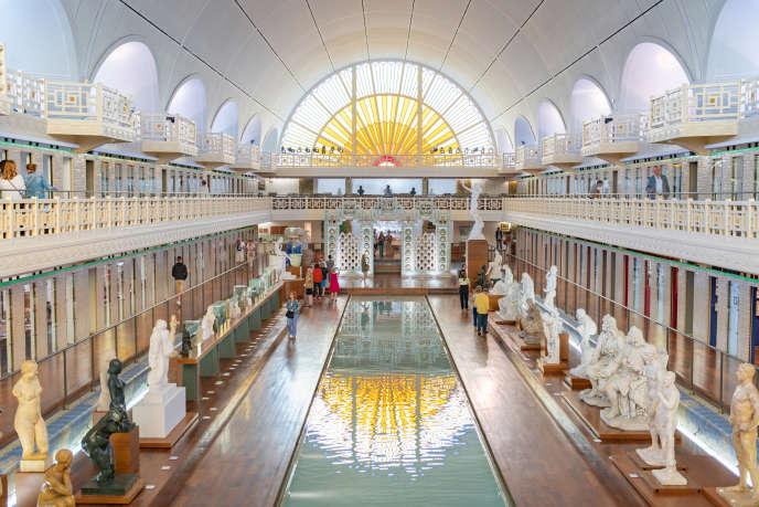 Le musée municipal de Roubaix, La Piscine, en août 2019.